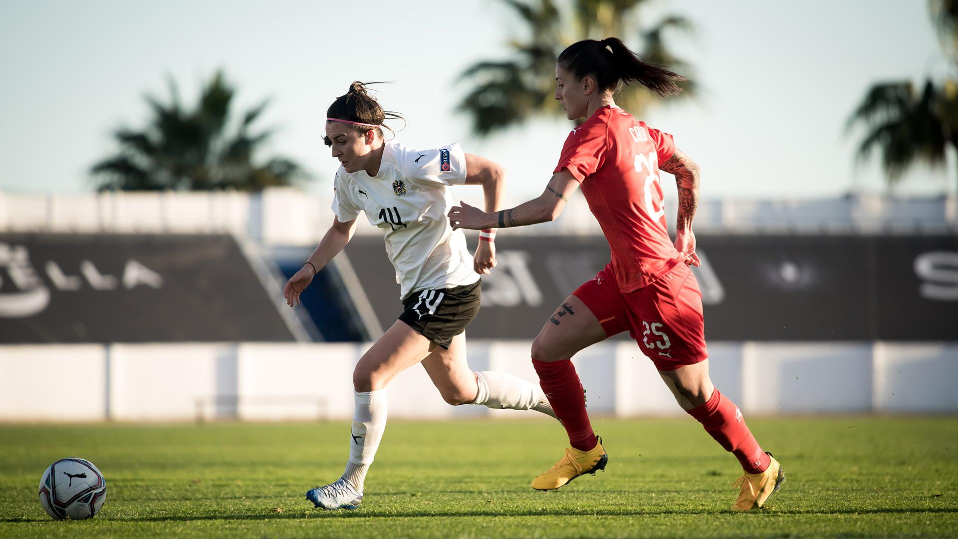 Frauen-Nationalteam unterliegt der Schweiz | Channel ÖFB