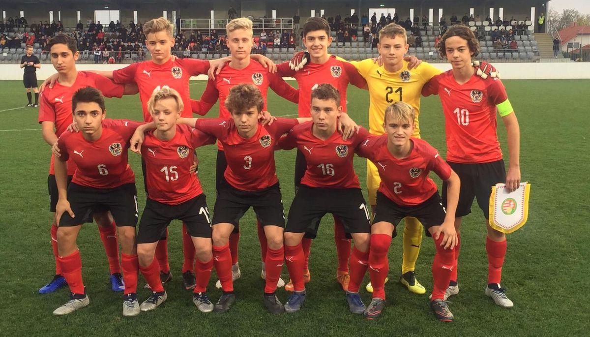 U15 Nationalteam Oefb At